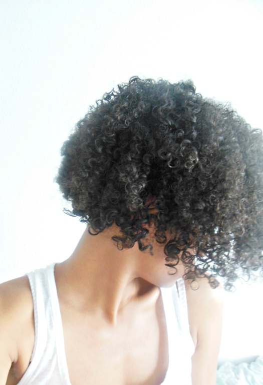 routine cheveux frisés