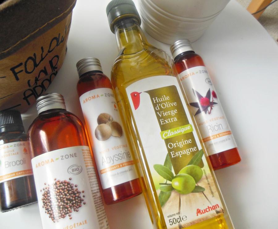 Les huiles vegétales