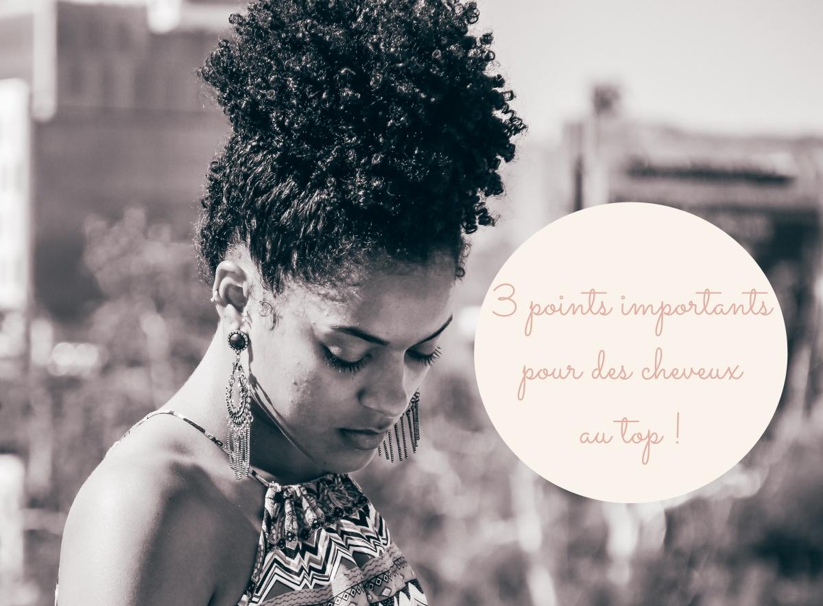 Les 3 fondamentaux pour avoir des cheveux afros en bonne santé